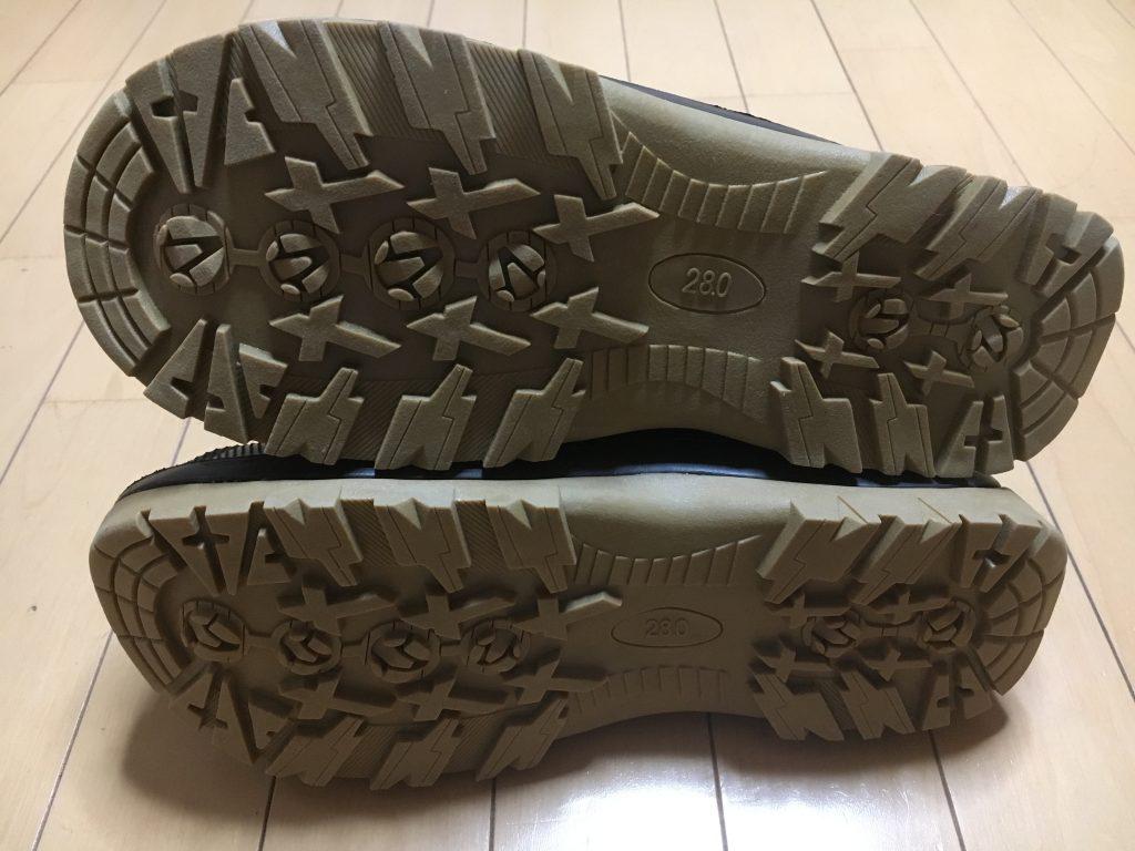 釣り用防寒ブーツ 靴底