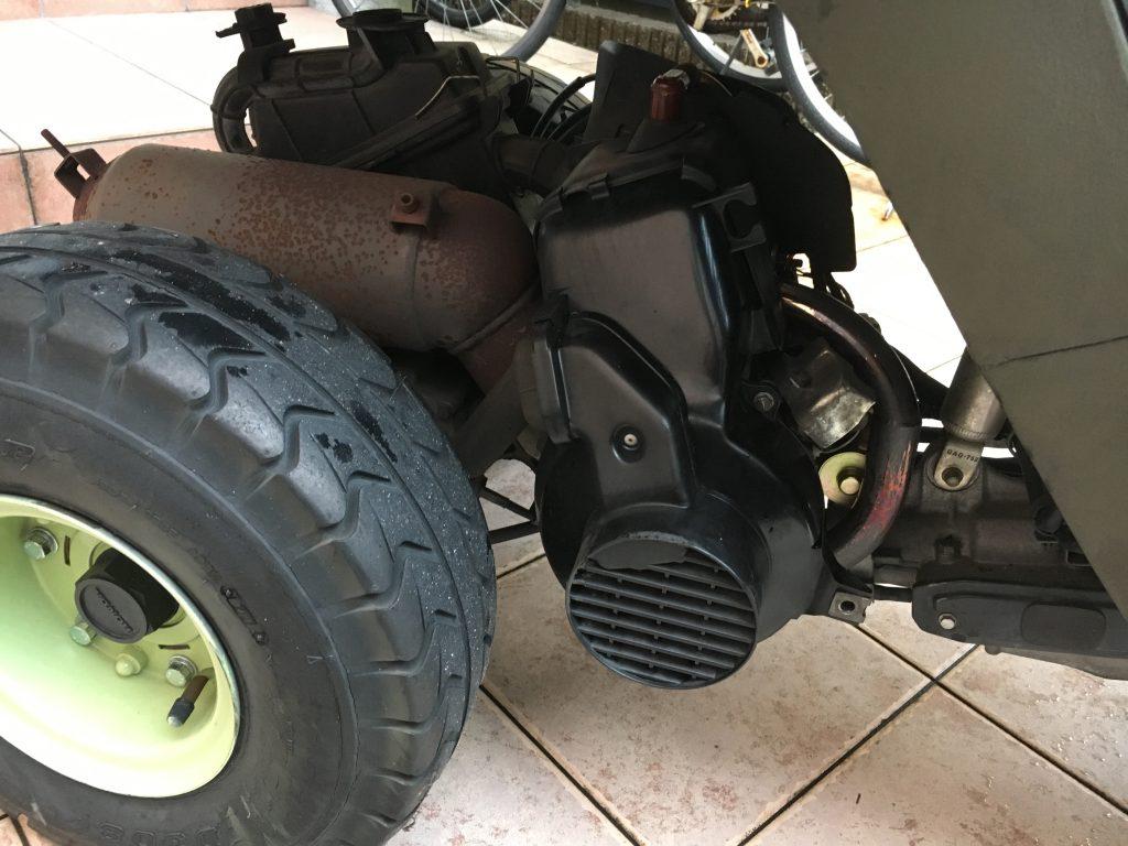 ジャイロキャノピー クーリングファンカバー エンジンカバー交換