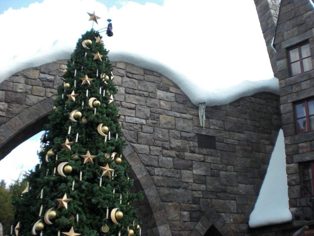 USJ ハリーポッター クリスマスツリー