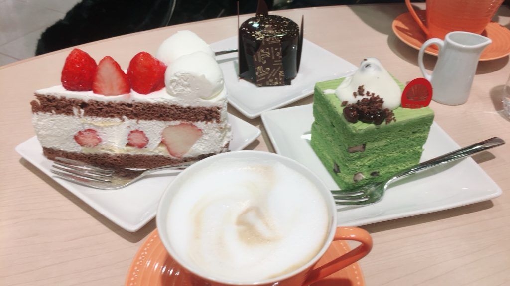 さんちか ミオール神戸本店  ケーキセット