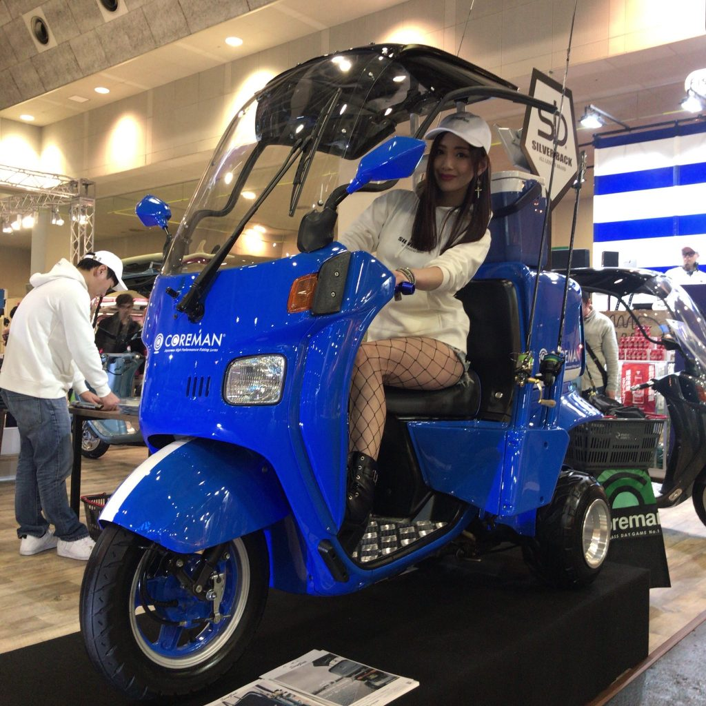 フィッシングショー大阪 ジャイロキャノピー