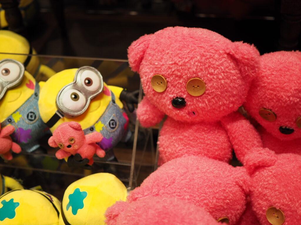 USJ ミニオングッズ ピンクのクマ