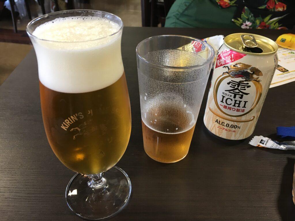 キリンビール工場見学 試飲
