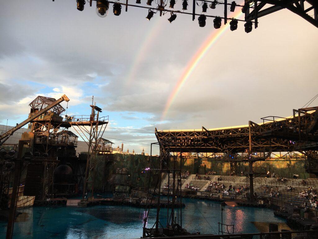 USJ ワンピース・プレミアショー 2019 二重の虹