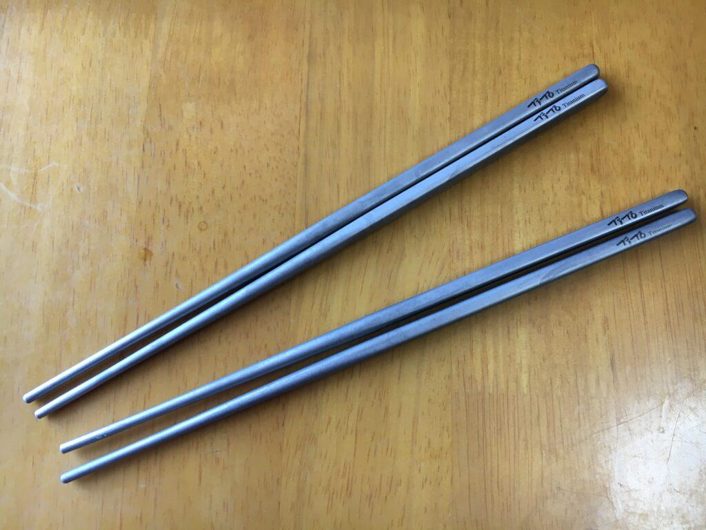 箸 チタン製