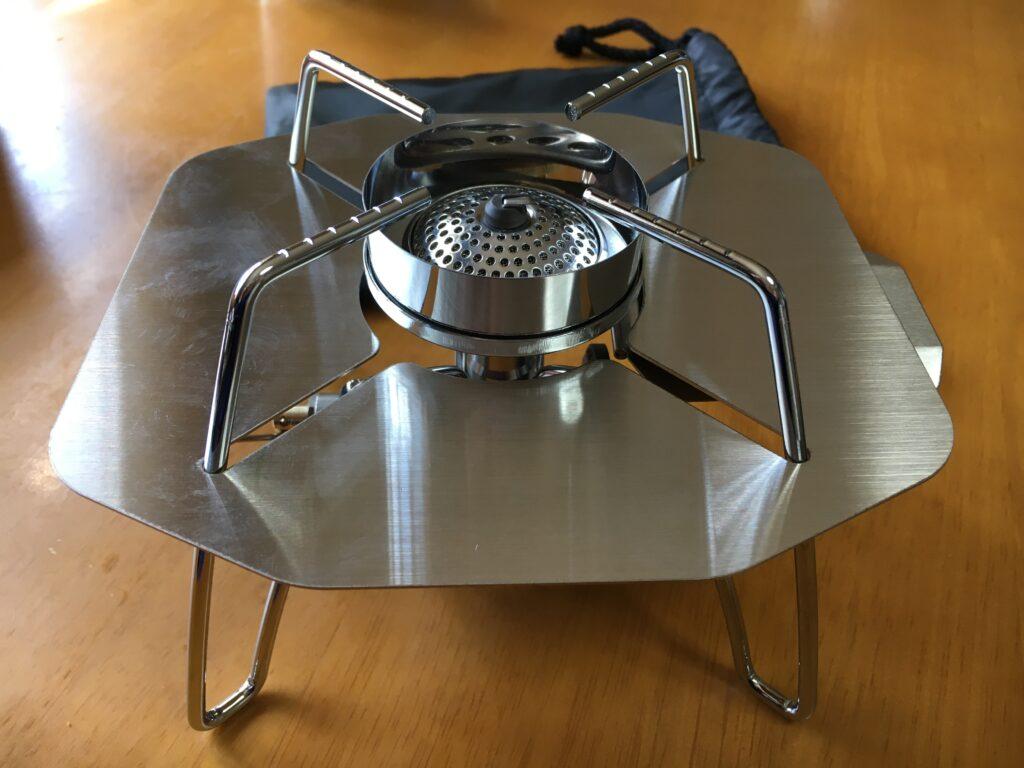 SOTOレギュレーターストーブST-310の遮熱版
