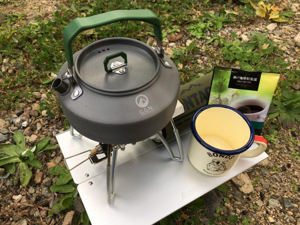 野営ソロキャンプ コーヒータイム