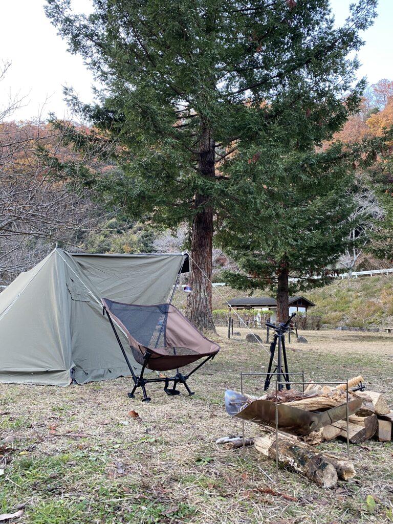冬のソロキャンプ